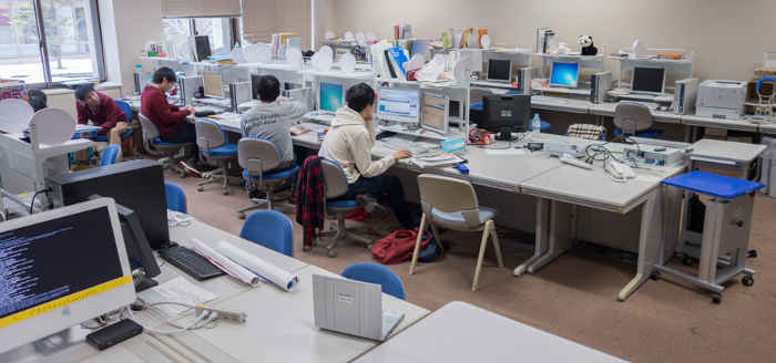 学生研の風景